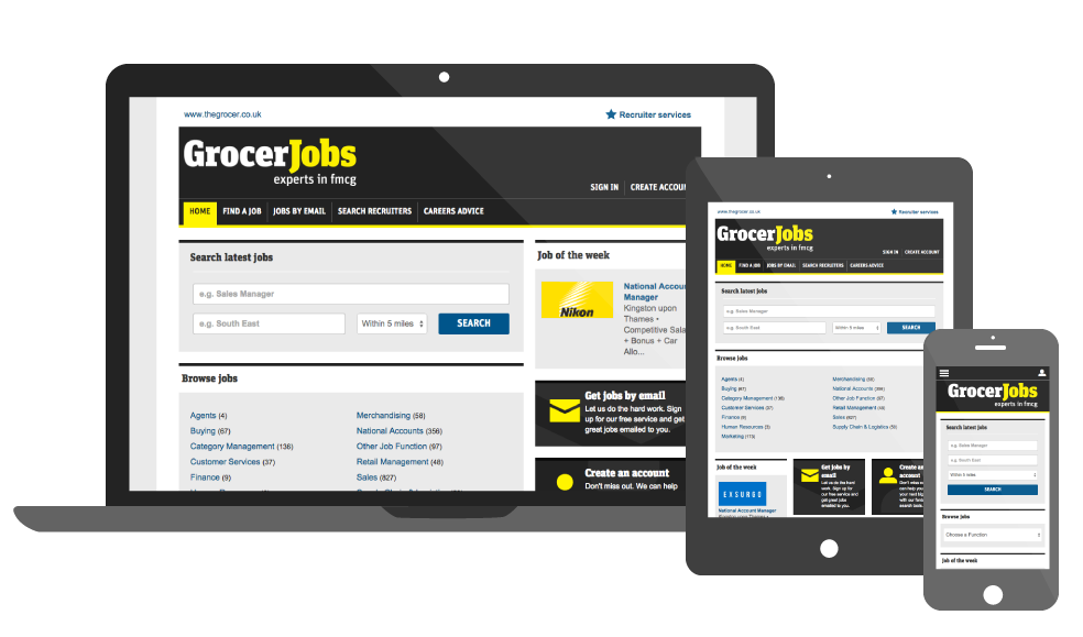 GrocerJobs2.com Job Board by Madgex
