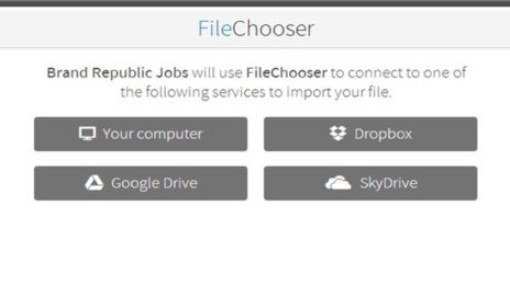 Madgex Launch Mobile Application Solution File Chooser