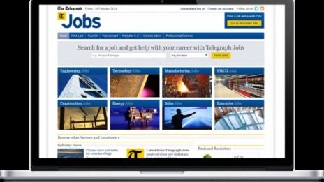 Telegraph Jobs By Madgex 608X362