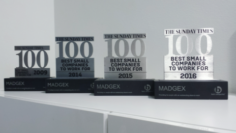 Madgex Workplace Awards