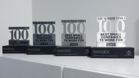 Madgex Workplace Awards