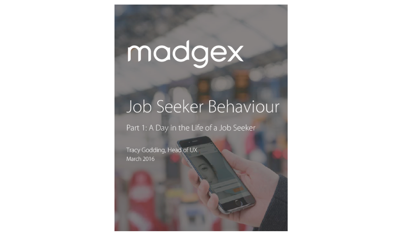 Madgex Job Seeker behaviour
