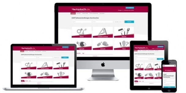 Fachjobs24.de using Madgex Solution
