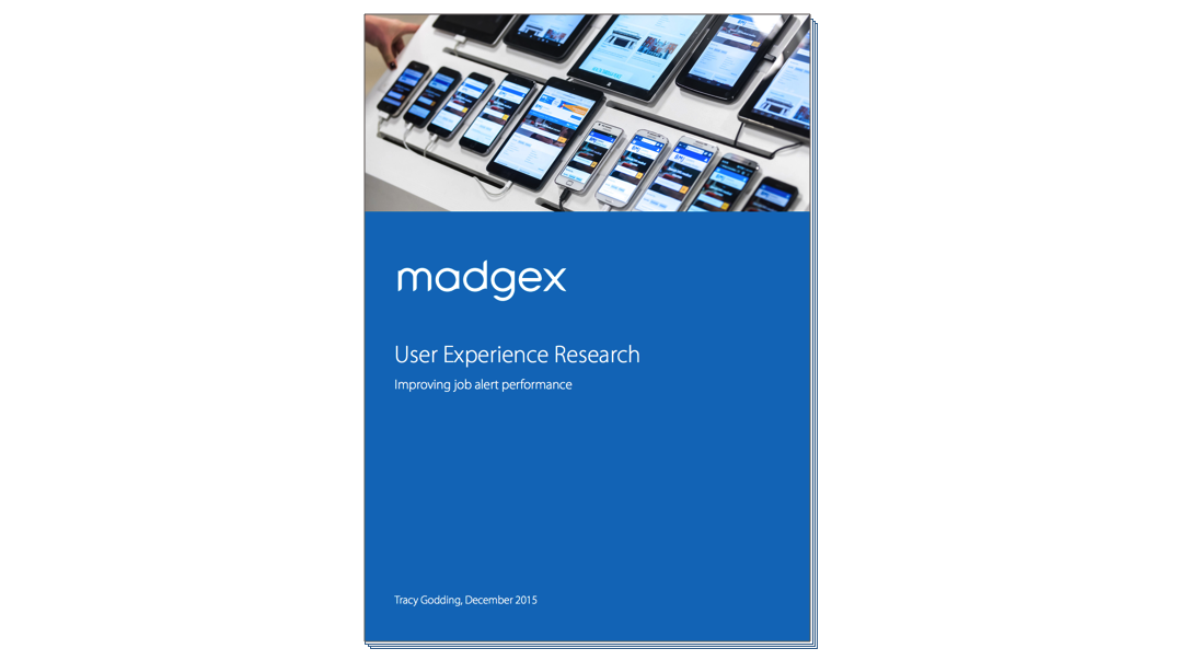 UX Research Madgex