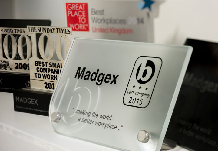 Madgex Great Place to Work