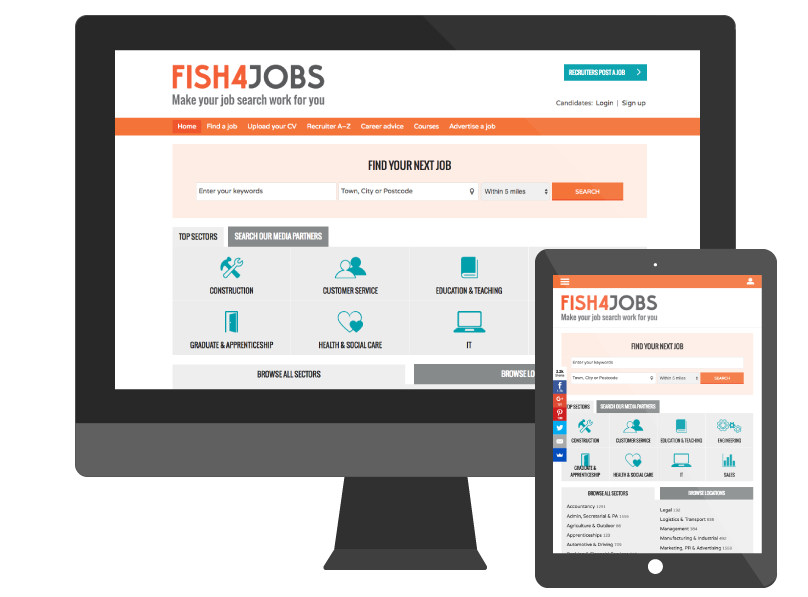 Fish4JObs Job Board Platform by Madgex